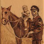 Policeman's horse